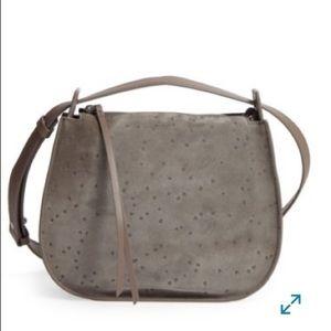 New All Saints Mini Echo Star Bag grey